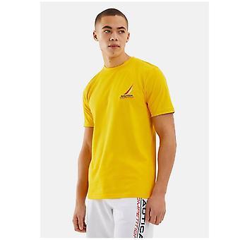 Nautica Konkurrence Dandy T-shirt - Gul