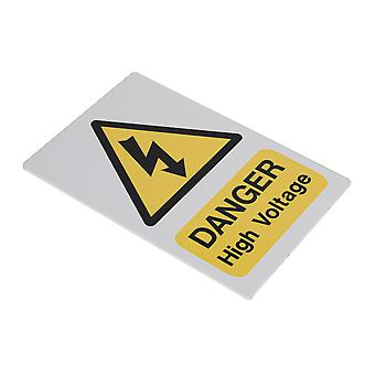 Sealey Hvsa4 High Voltage Warning Sign 200 X 300Mm
