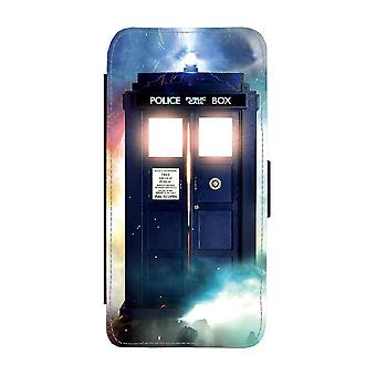 Doctor Who Tardis Samsung Galaxy A32 5G Wallet Case