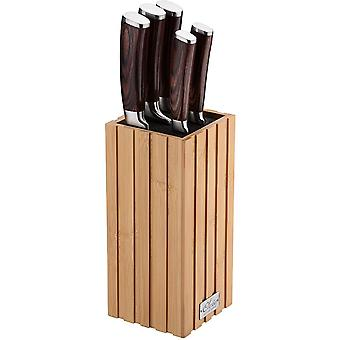 Wokex Bambus Messerblock (gerade)