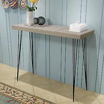 vidaXL console table 90x30x71.5 cm grey