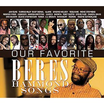 Vores favorit Beres Hammond sange - vores foretrukne Beres Hammond sange [Vinyl] USA importerer