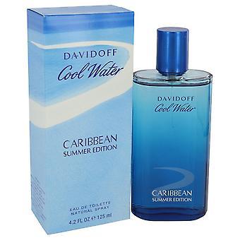 Refrigerar de água verão caribenho por Davidoff Eau De Toilette Spray de 4,2 oz
