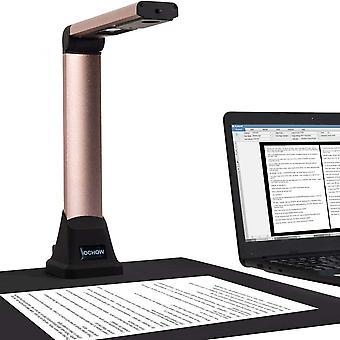Wokex S500 Dokumentenkamera, Dokumentenscanner für Lehrer, faltbar und tragbar, bis zu A4