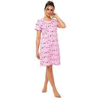 Foxbury Womens/Ladies Jersey Lollipop Printed Nightie