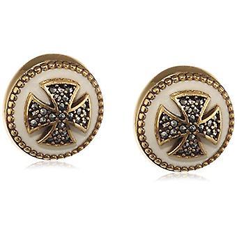Misis Women-EarringsArtificialia Silver 925 marked enamel 1.5 cm - OR09079