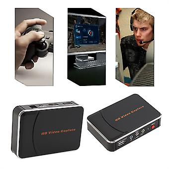 Hd Game Video Capture 1080p Hdmi Ypbpr Recorder Us Plug For Game Lovers