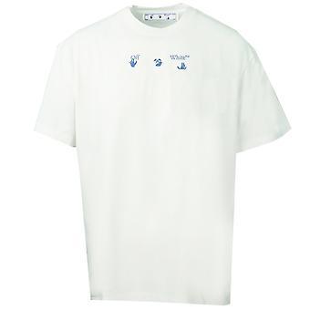 Off White OFFW Grafische Print Wit T-Shirt