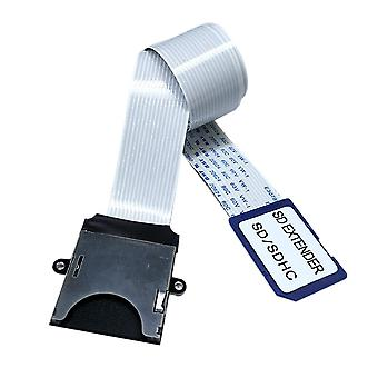 Sd To Sd Card Extension Cable Adapter Flexible Extender Sdhc / Sdxc Reader