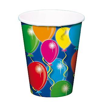 Tassen Ballons, 8Pcs.