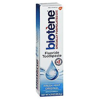 Biotene Biotene Dry Mouth Fluoride Toothpaste Fresh, Mint Original 4.3 oz
