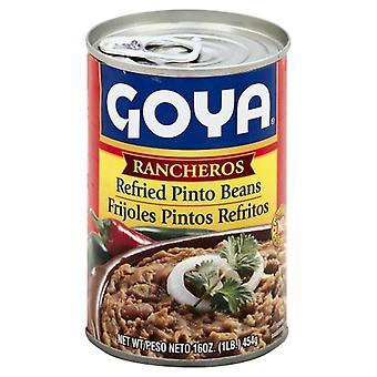 Goya Bean Refried Ranchero, Case of 12 X 16 Oz
