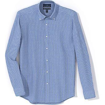 Buttoned Down Miesten räätälöity fit button kaulus kuvio mekko paita