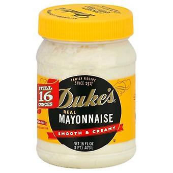 Vojvodova skutočná majonéza hladká a krémová 16 oz Jar