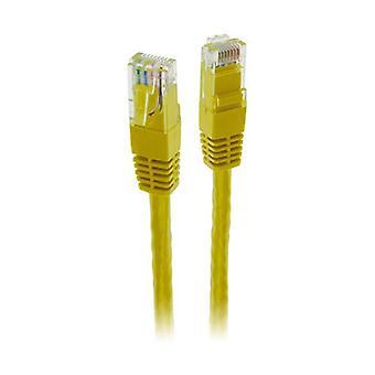 Pro2 5M Yellow Cat6 Patch Lead