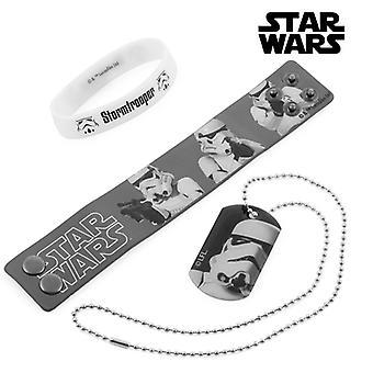 Stormtrooper ranne korut ja kaula koru (Star Wars)