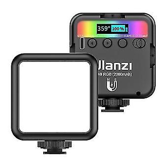 ulanzi VL49 RGB الجيب LED الفيديو ضوء التصوير ملء الضوء