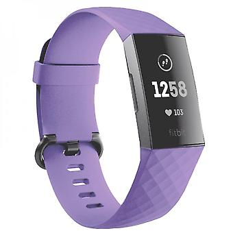 Silicone Sport Watchband For Fitbit Charge3 / Charge4