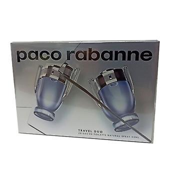 Paco Rabanne Travel Invictus Set Duplo 2 x 50 ml