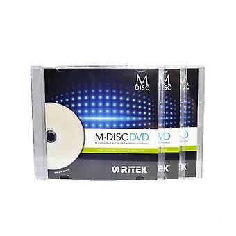 4,7 Gt tulostettavia DVD-levyjä, joiden tallennusaika on enintään 1000 vuotta.