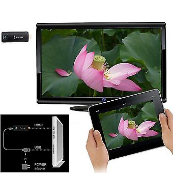 New Arrival A2w Miracast Tv Airplay Dongle Dlan Airplay Hdmi Wifi Receiver