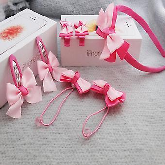 Vauvan hiuspanta Bow Flower Hair Band