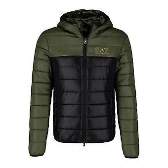 Men's Sports Jacket BOMBER JACKET Armani Jeans 6ZPB59 PN29Z Green Nylon