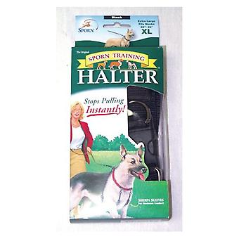 Sporn Original Training Halter voor honden - Zwart - X-Large