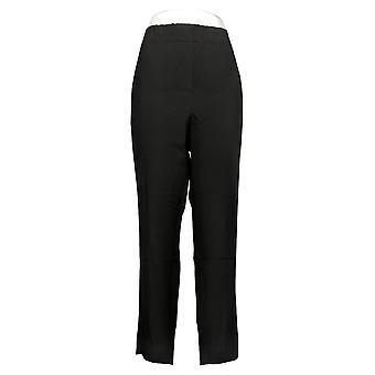 H By Halston Women's Plus Pants Pull On Skinny Leg Black A269439
