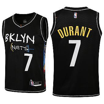 Nba Brooklyn Nets Kevin Durant No.7 Basketball Sport Jersey (voksen Størrelse)