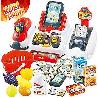 Pelata Cash Register Lelut Lapsille - Learning Lelu raha Teeskennellä Play Set