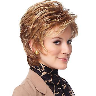 Pelucas de centro comercial de marca, pelucas de encaje, pelucas realistas de pelo corto esponjoso