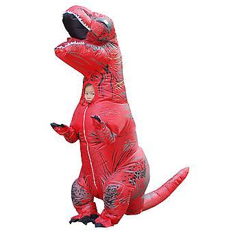 Red Children Tyrannosaurus Rex Inflatable Clothing Children's Dinosaur Costume