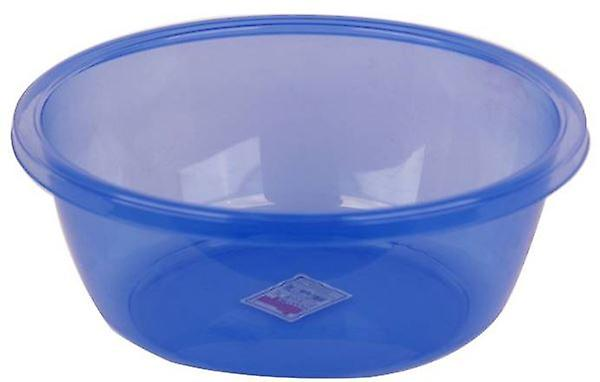 Round Basin 29ltr Plastic Blue Can Be Used For Washing Up Dishes Cutlery
