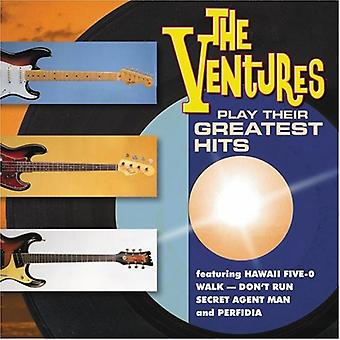 Ventures - Play Their Greatest [CD] USA import