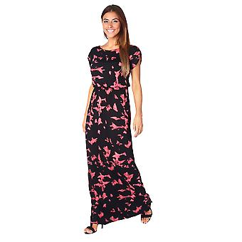 KRISP Womens Ladies Boho Oversized Loose Jersey Long Maxi Summer Dress Casual Party