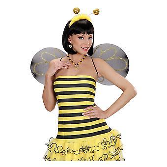 Biżuteria i korony Bee naszyjnik i kolczyki
