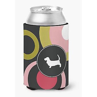 Carolines Treasures  KJ1012CC Basset Hound Can or Bottle Beverage Insulator Hugg