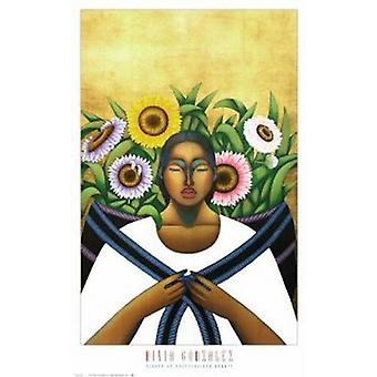 Anklänge an hemmungslose Schönheit Poster Print von Nivia Gonzalez (24 x 36)