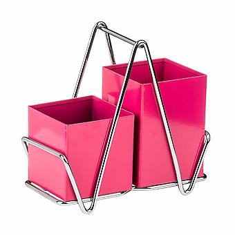 Premier Housewares príbory Caddy, Hot Pink
