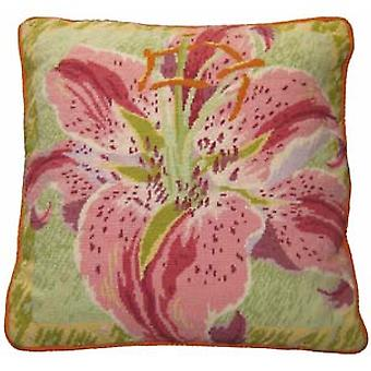 Single Lily Needlepoint Kit