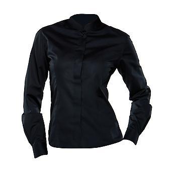 Bargear® Naisten pitkähihainen Mandarin kaulus Bar paita