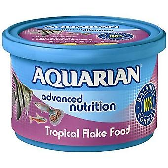 AQUARIAN Tropical Fish Food Flakes 50 g (Pack of 6)