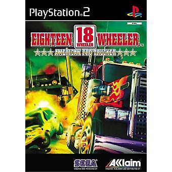 18 Wheeler (PS2) - Ny fabrik förseglad