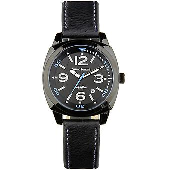 Relógio de pulso relógio de Bruno Banani de Cetos couro analógico BR30020