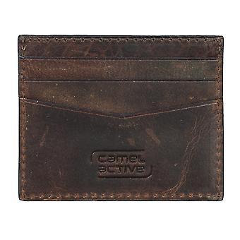 Camel active mens credit card holder card holder leather case Brown 4237