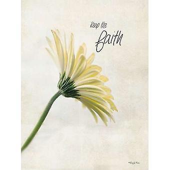 Keep the Faith Poster Print by Robin-Lee Vieira (12 x 16)