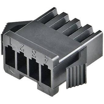 JST SMP-04V-BC huisvesting voor SM serie aantal pins: 4 nominale stroom (details): 3 A