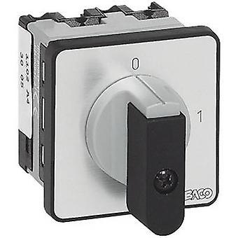 BACO NB02AQ1 Isolator switch 16 A 1 x 90 ° Grey, Black 1 pc(s)