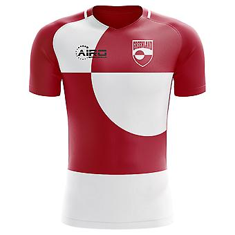 2020-2021 Greenland Home Concept Football Shirt